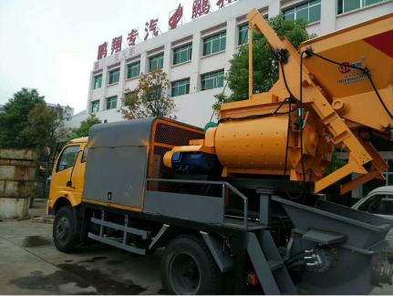 #新农村建房如何购买泵车?四川眉山市混凝土泵车售价多少钱